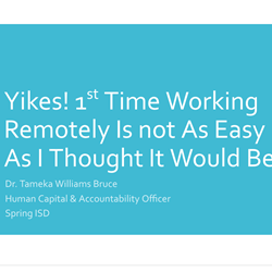 Yikes! 1st Time Working Remotely Isn't As Easy As I Thought