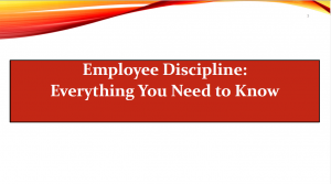 11-13-19 Employee Discipline
