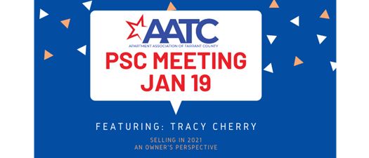 Jan 19 PSC -  Selling in 2021 - An Owner's Perspective