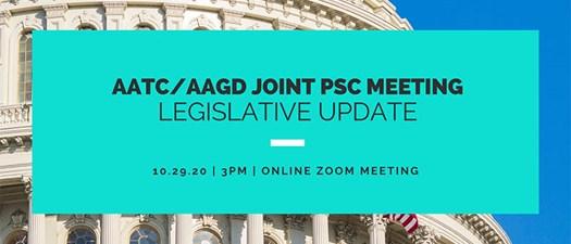 October PSC Meeting (AAGD + AATC)