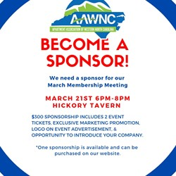 March Membership Meeting Sponsorship