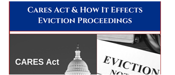 CARES Act and Evictions