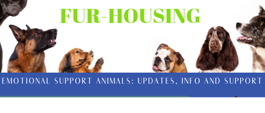 Fur Housing: Emotional Support Animals