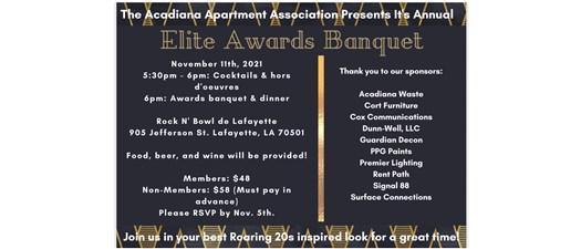 Acadiana Apartment Association Awards and Induction Banquet