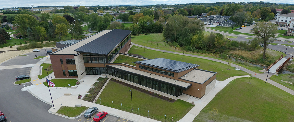 Waunakee Library now sits on the former Waunakee Alloy Casting Corp.Site