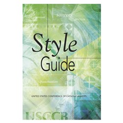 USCCB Style Guide (English)