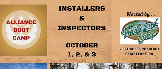 Installers & Inspectors Boot Camp