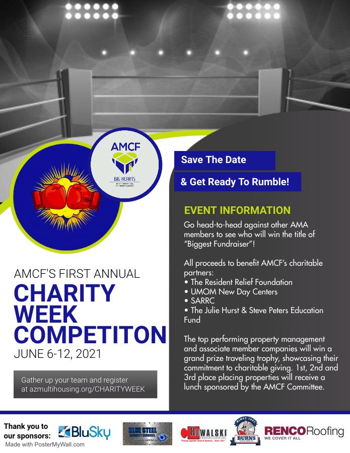 Charity Week Flyer