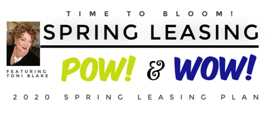 2020 Spring Leasing Pow & Wow Featuring Toni Blake (Session 1)