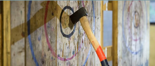2021 Tucson Networking Event - Axe Throwing