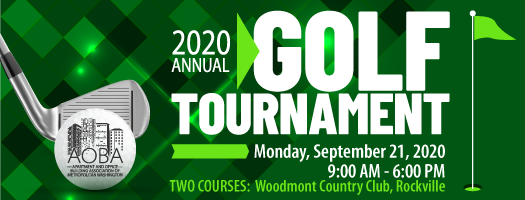2020 Annual Golf Tournament - Sold Out
