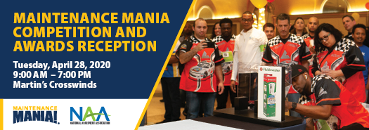 Canceled - 2020 Maintenance Mania Competition and Awards Reception