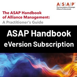 The ASAP Handbook of Alliance Management - A Practitioner's Guide - E-version