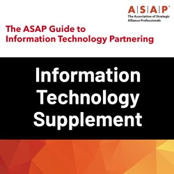 The ASAP Guide to Information Technology Partnering