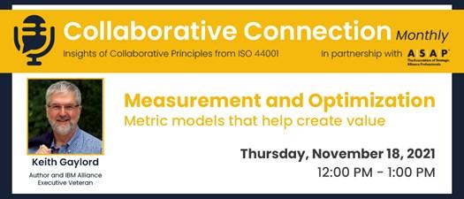 Measurement and Optimization   Metric models that help create value
