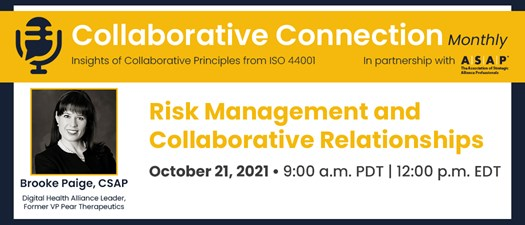 Risk Management and Collaborative Relationships