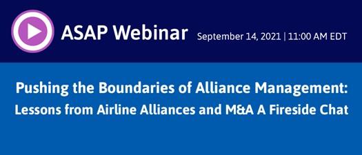 Pushing the Boundaries of Alliance Management