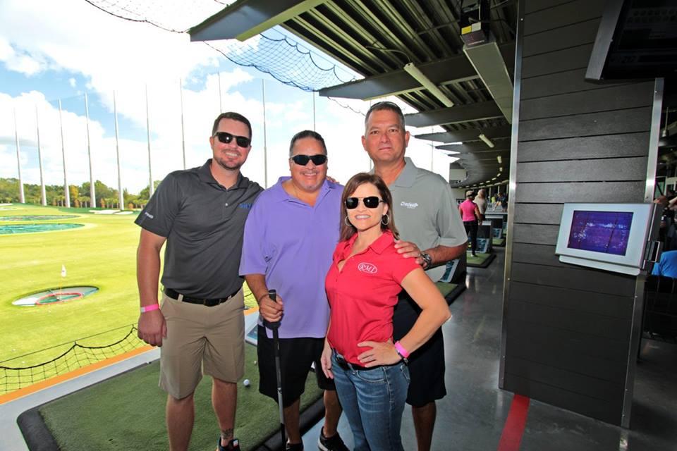 Members at Top Golf