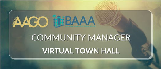 BAAA-AAGO Town Hall for Community Managers