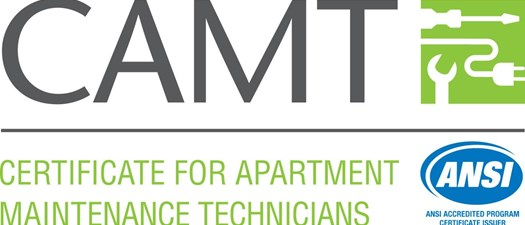 Certificate for Apartment Maintenance Technicians (CAMT) - Fall 2019