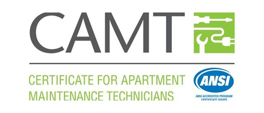CAMT - Certificate for Apartment Maintenance Technicians