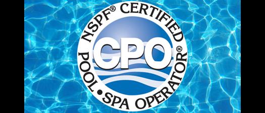 Certified Pool Operator (CPO)