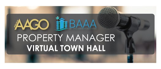 BAAA-AAGO COVID-19 Town Hall for Community Managers
