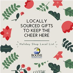 Holiday Shop Local List