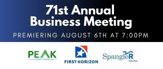 71st Annual Business Meeting
