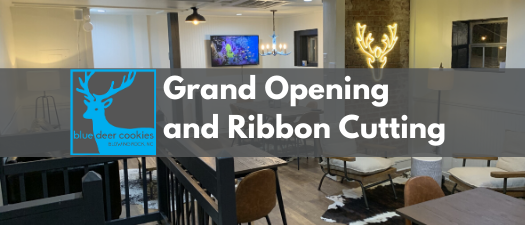 Blue Deer On King Virtual Grand Opening and Ribbon Cutting