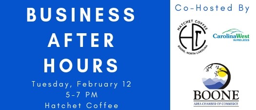 Business After Hours - Hatchet Coffee & Carolina West Wireless
