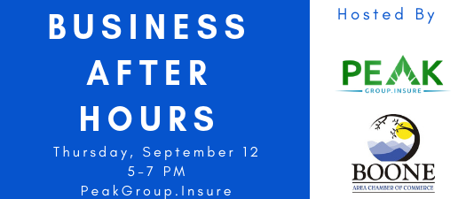 Business After Hours - Peak Group Insurance