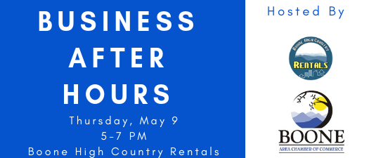 Business After Hours - Boone High Country Rentals
