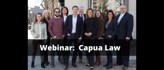 Webinar with Capua Law:  COVID-19 Legal Implications