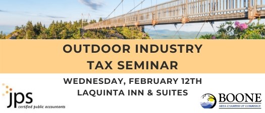 Johnson Price Sprinkle PA Outdoor Industry Tax Seminar