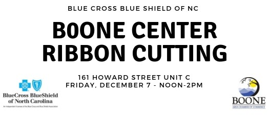 Blue Cross Blue Shield Boone Center Ribbon Cutting