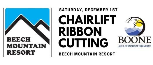 Beech Mountain Chairlift Ribbon Cutting