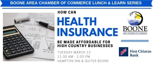 Lunch & Learn: Affordable Health Insurance For Local Businesses