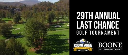 29th Annual Last Chance Golf Tournament