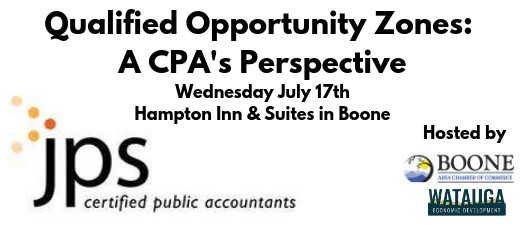 Qualified Opportunity Zones: A CPA's Perspective
