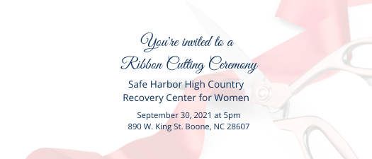 Grand Opening of Safe Harbor of the High Country