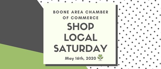 Shop Local Saturday 5/16