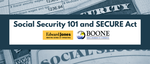 Social Security 101 and SECURE Act Session 2