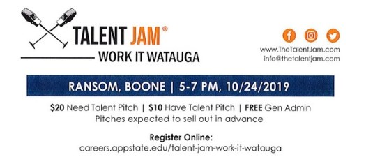 Talent Jam - Work It Watauga