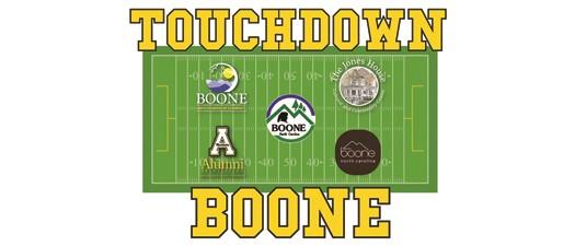 Touchdown Boone - Pre Gardner Webb