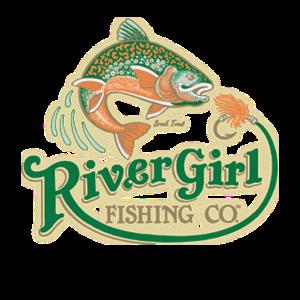 River Girl Fishing