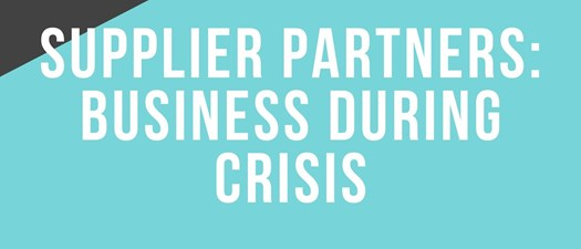 Supplier Business During Crisis