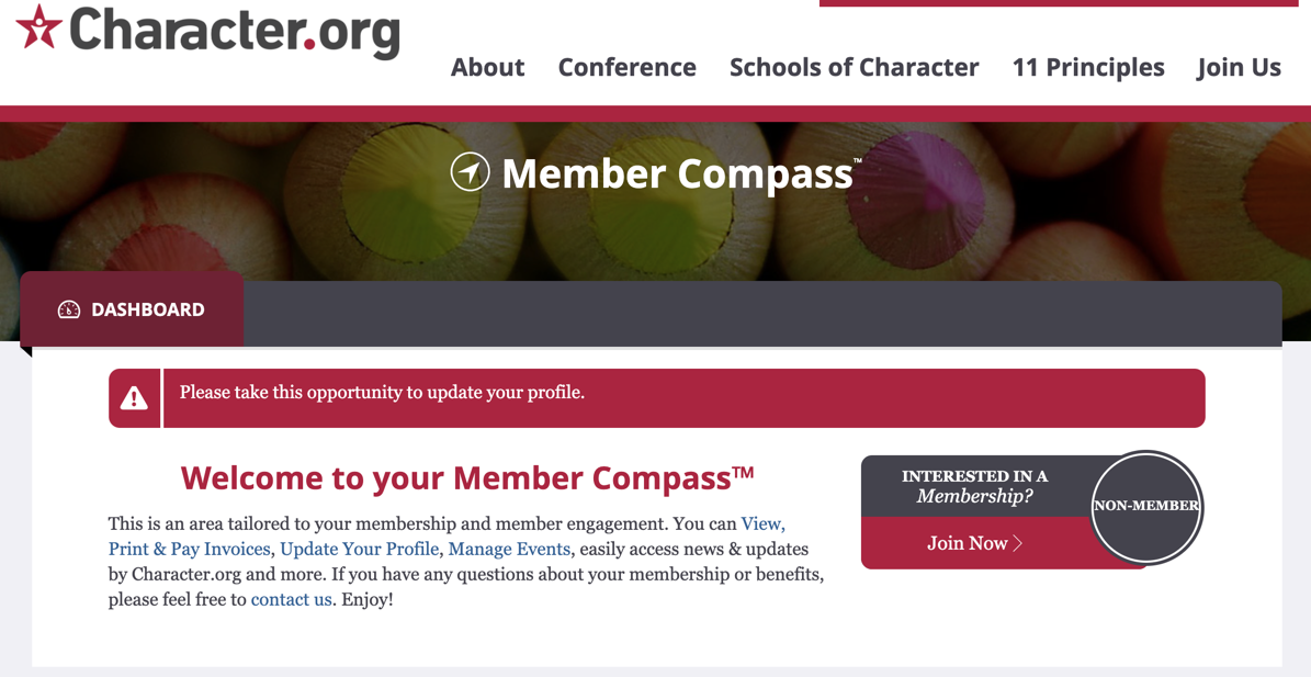 Character.org Member Compass