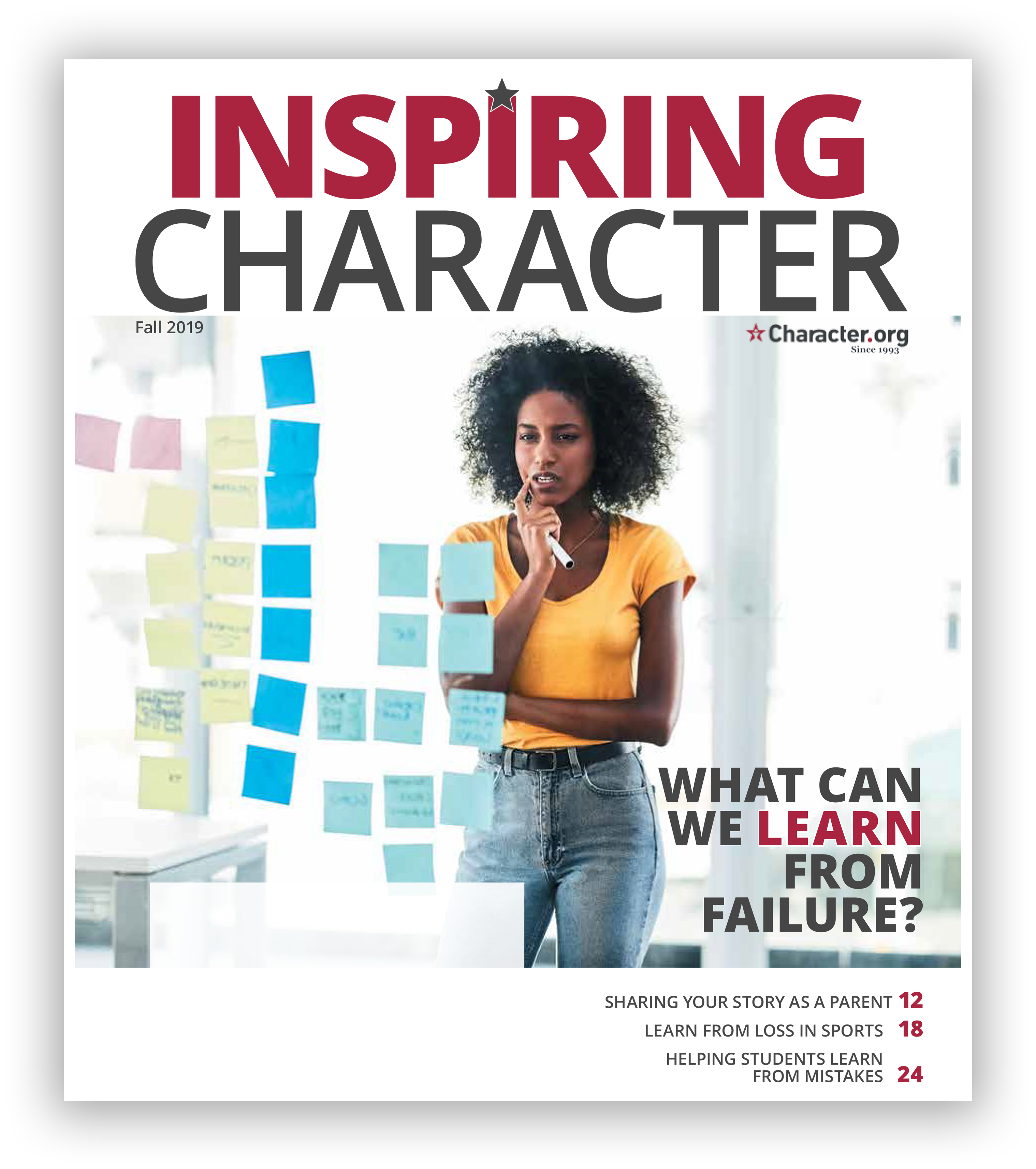 Inspiring Character Fall 2019 Issue