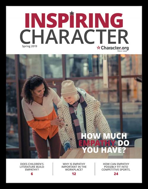 Inspiring Character Magazine Spring 2019